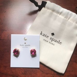 Kate Spade Earrings -Brand New with Jewelry Pouch!